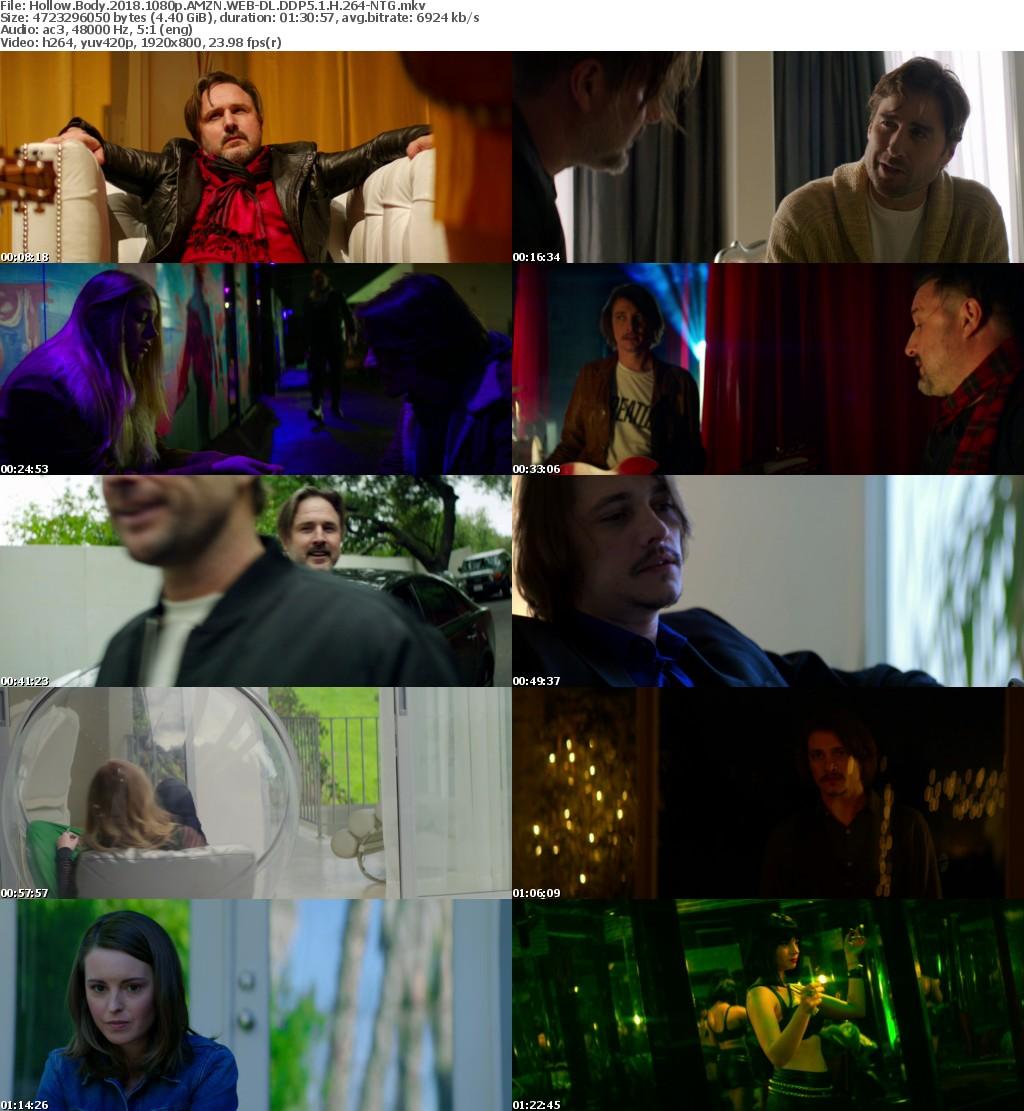 Hollow Body (2018) 1080p AMZN WEBRip DDP5.1 x264-NTG