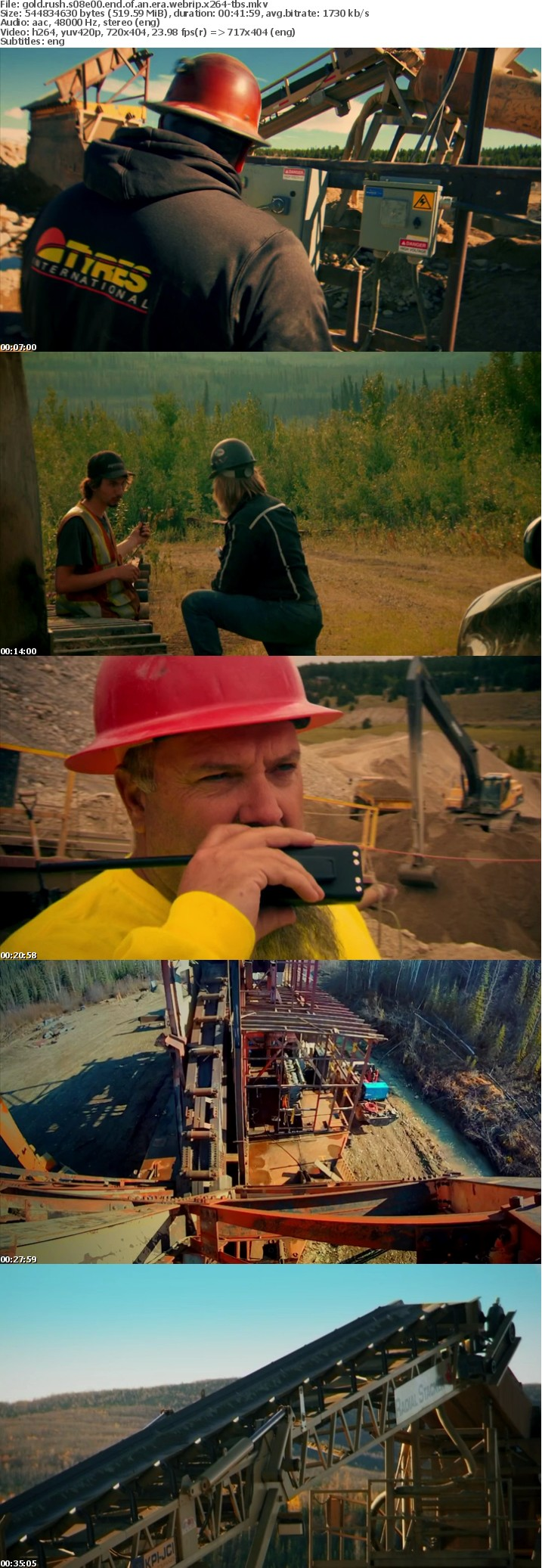 Gold Rush S08E00 End of an Era WEBRip x264-TBS