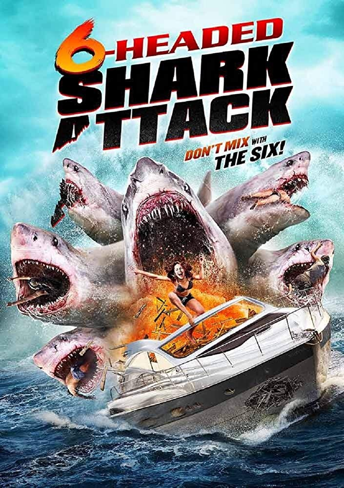 6 Headed Shark Attack (2018) 1080p BluRay AC3 5.1 x264 MW