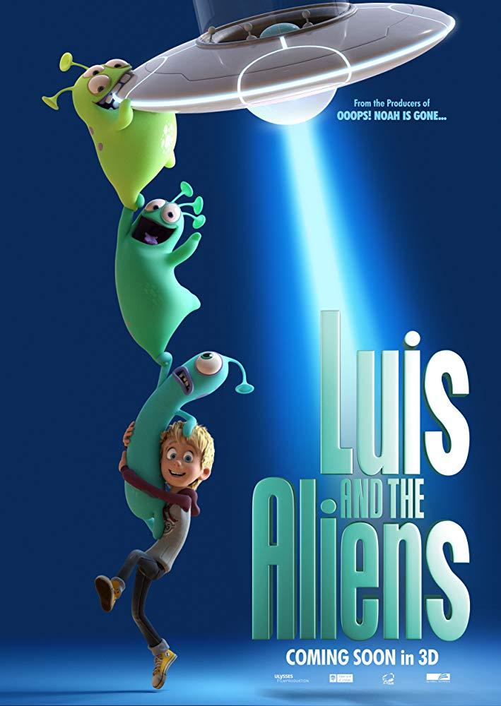 Luis And The Aliens (2018) BRRip XviD AC3-EVO