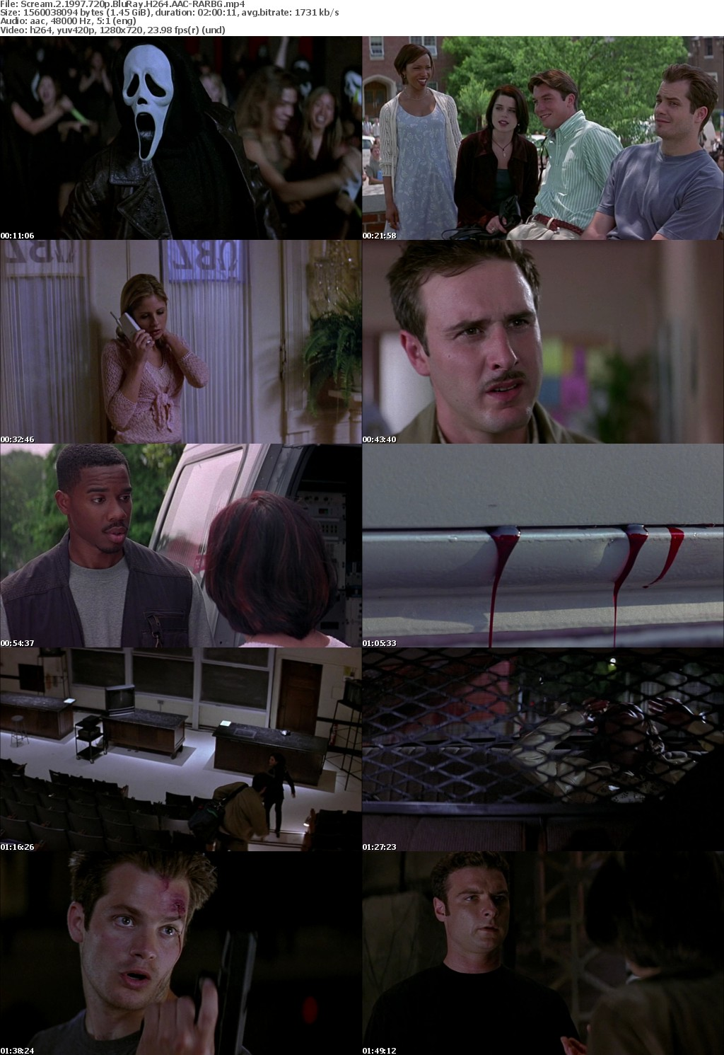 Scream 2 (1997) 720p BluRay H264 AAC-RARBG