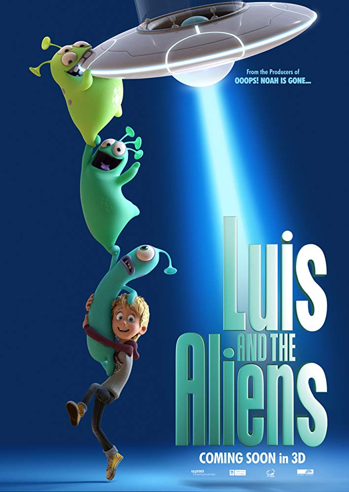 Luis And The Aliens (2018) 1080p BluRay x264 DTS MW