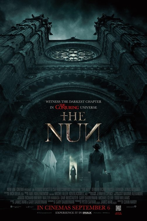 The Nun (2018)[Hindi-Cleaned] 720p HC HDRip LLG