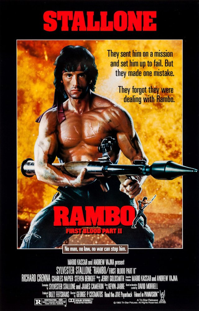 Rambo First Blood Part II 1985 REMASTERED 720p BluRay X264-AMIABLE
