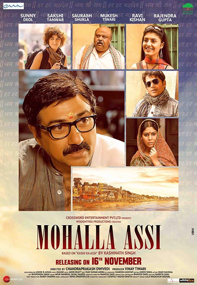 Mohalla Assi 2018 Hindi 720p WEB-Rip x264 AAC 5 1 - ESUB ~ Ranvijay