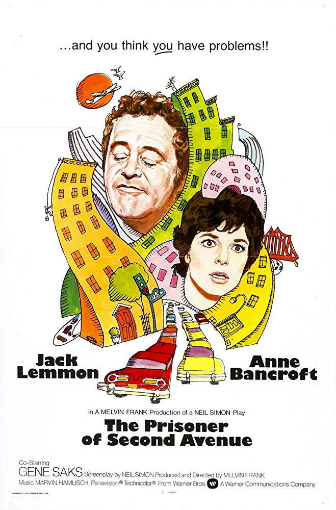 The Prisoner of Second Avenue 1975 DVDRip XViD