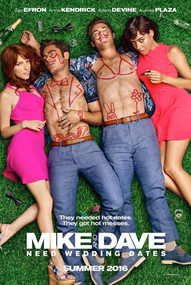 Mike and Dave Need Wedding Dates 2016 720p BluRay x264-x0r