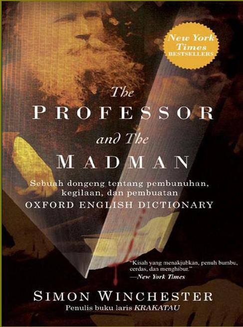 The professor and the madman essay questions?