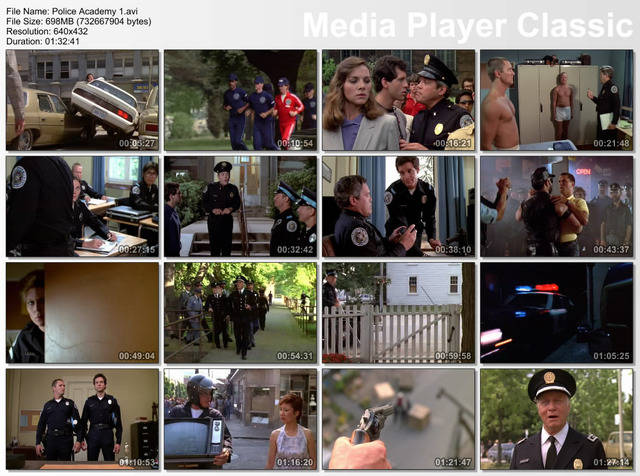 Police Academy 1-7 Movie Pack