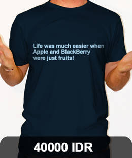Life was much easier when apple and blackberry were just a fruits