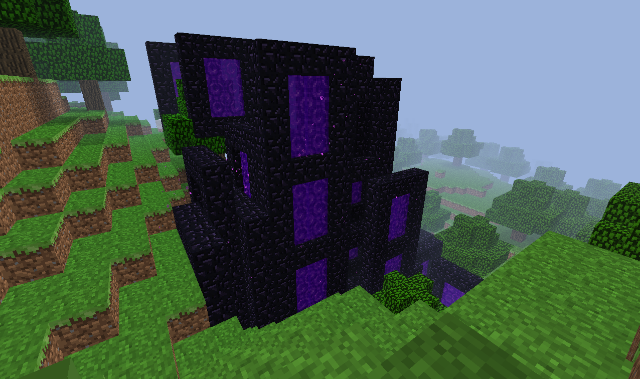 how to travel using the nether minecraft