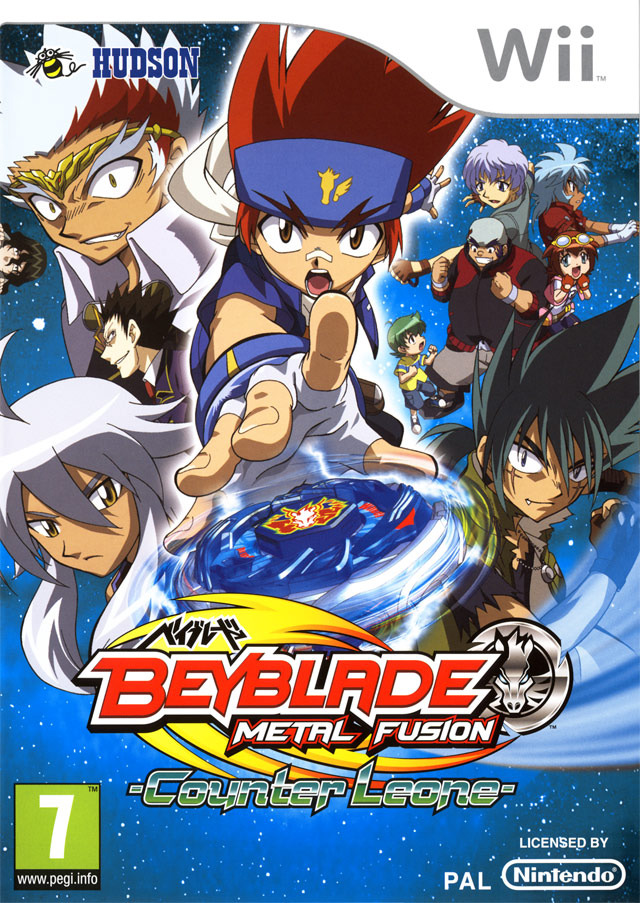 Beyblade Metal Fusion Counter Leone