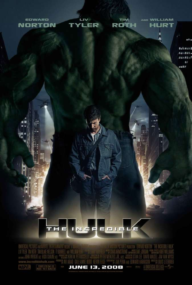 The Incredible Hulk 2008 BluRay  DD5 1 H265d3g