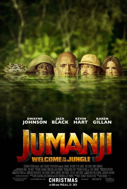 Jumanji Welcome to the Jungle 2017 720p BluRay H264 AAC-RARBG