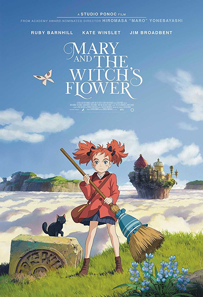 Mary and the Witch's Flower (2017) [BluRay] [1080p] YIFY