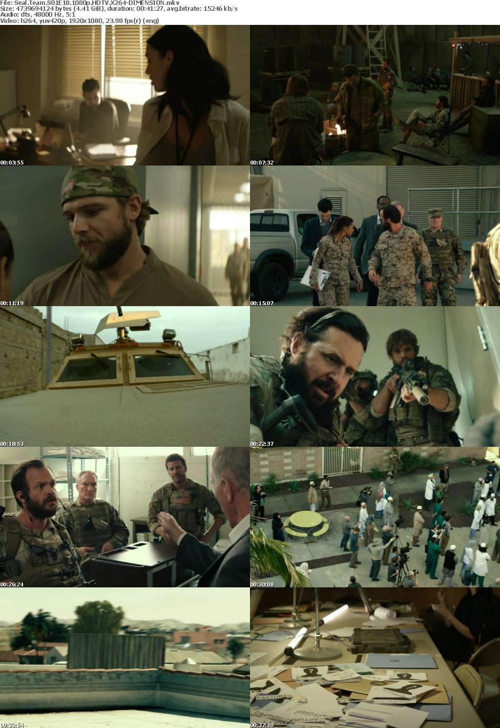 Seal Team S01E18 1080p HDTV X264-DIMENSION