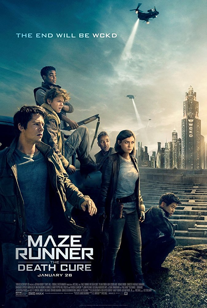 Maze Runner The Death Cure (2018) [BluRay] [1080p] YIFY