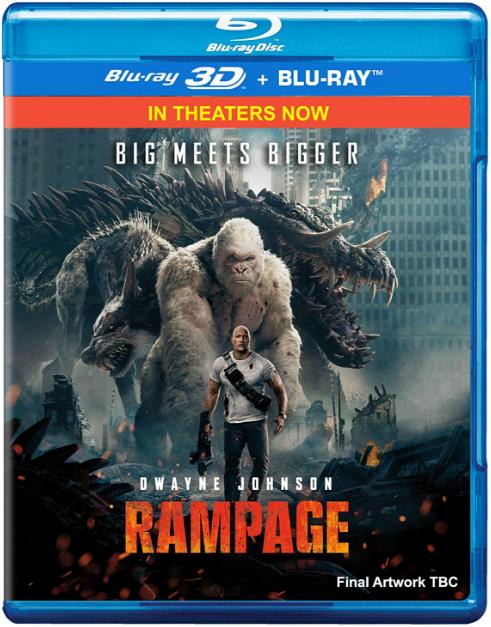 Rampage (2018) 480p WEB-DL Dual Audio [Hindi (Cleaned)+Eng] 350MB ESub-DLW