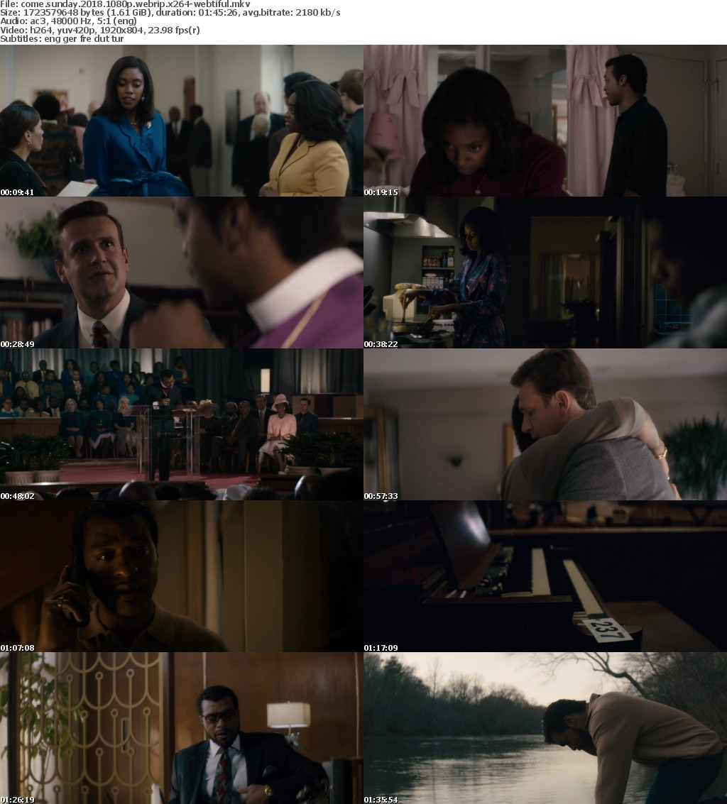Come Sunday 2018 1080p WEBRip x264-WEBTiFUL