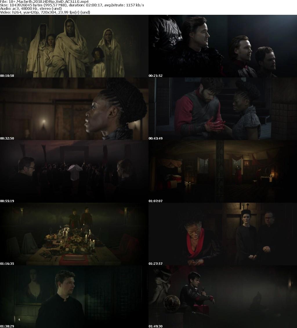 Macbeth (2018) HDRip XviD AC3 LLG