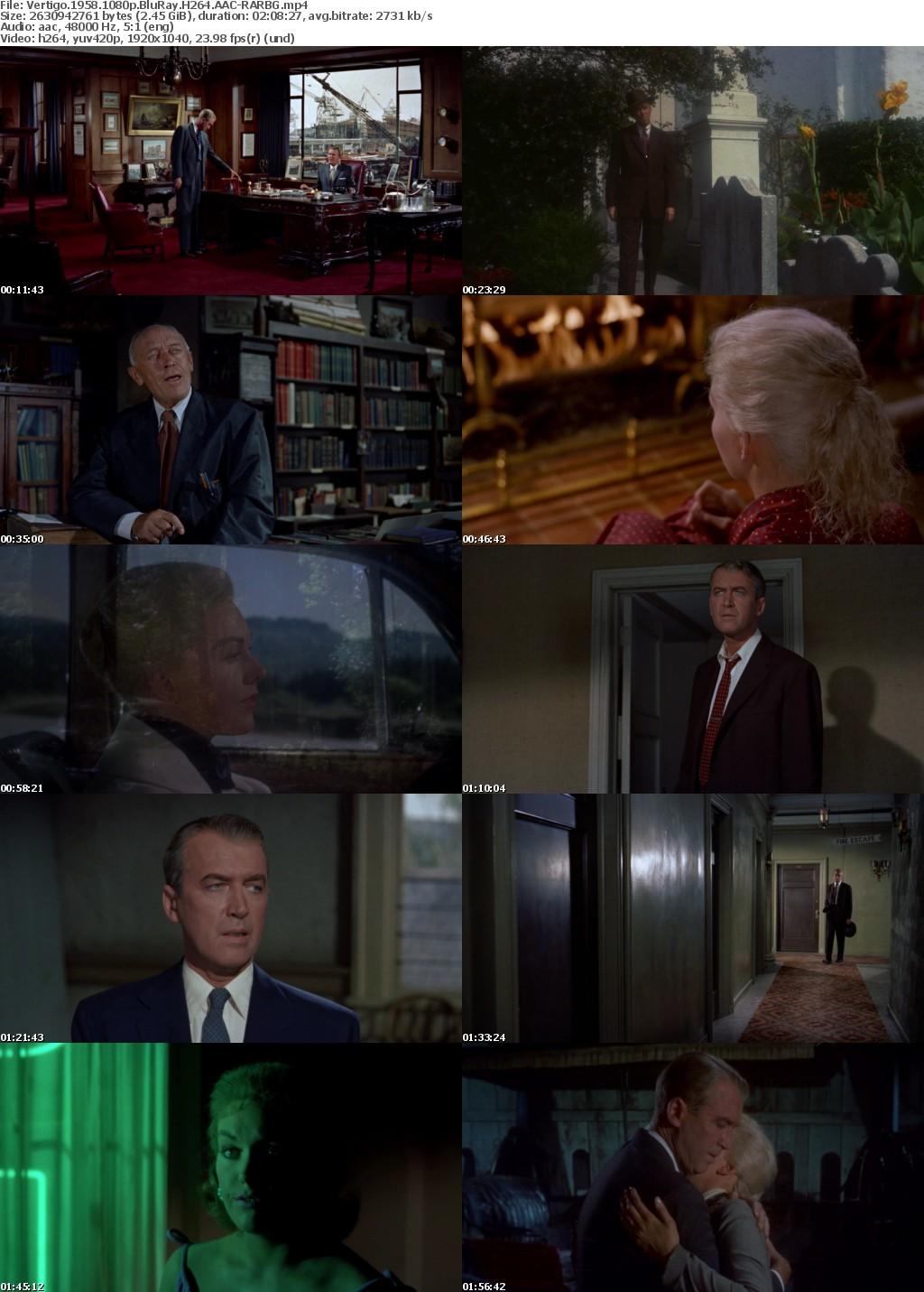 Vertigo (1958) 1080p BluRay H264 AAC-RARBG