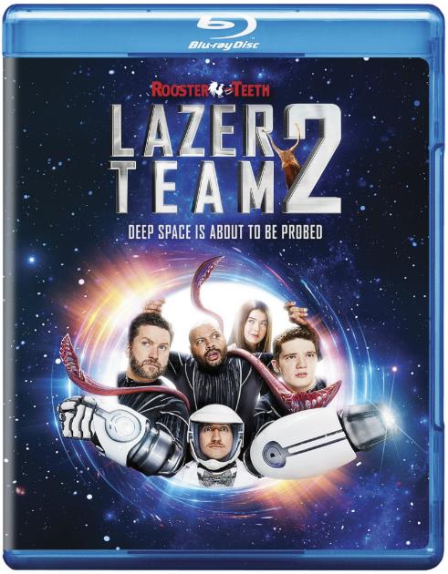 Lazer Team 2 (2018) 720p BRRip 600 MB - iExTV