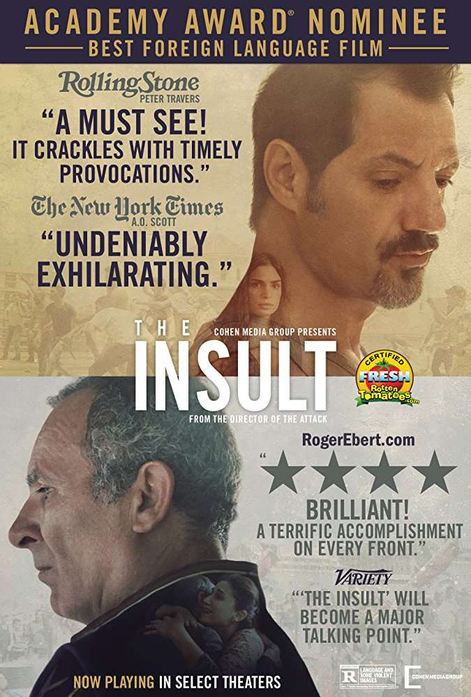 The Insult 2017 Movies BRRip x264 AAC ESubs with Sample