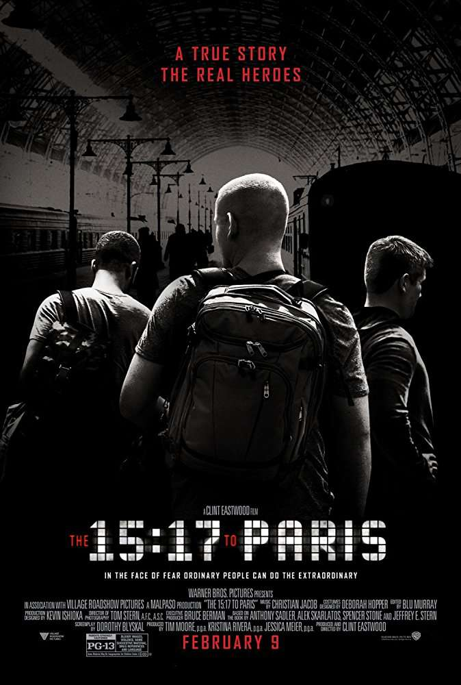 The 15 17 to Paris 2018 720p BRRip x264 AC3-iFT