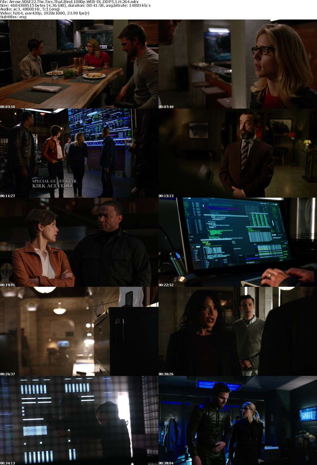 Arrow S06E22 The Ties That Bind 1080p WEB-DL DDP5 1 H 264