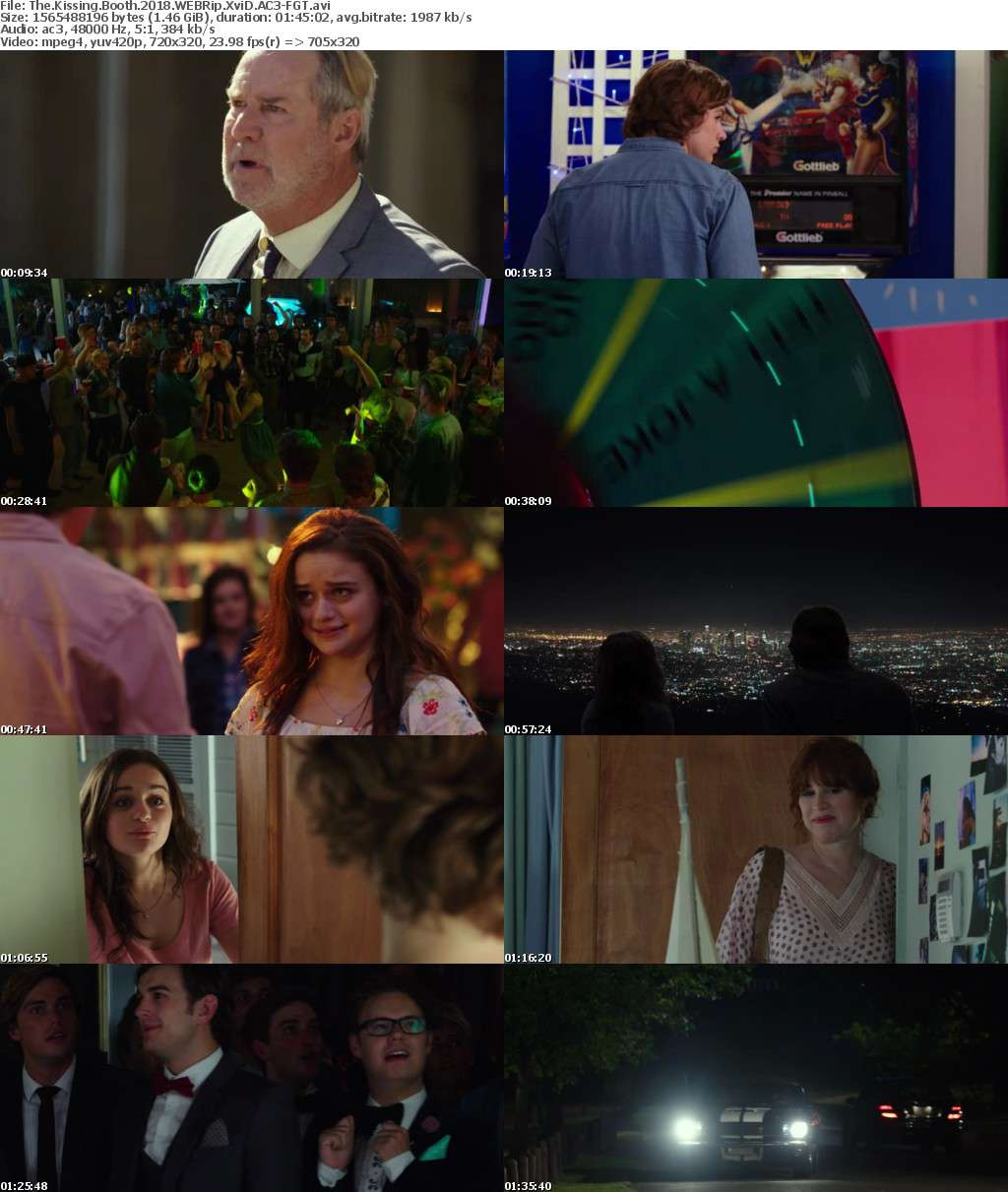 The Kissing Booth 2018 WEBRip XviD AC3-FGT