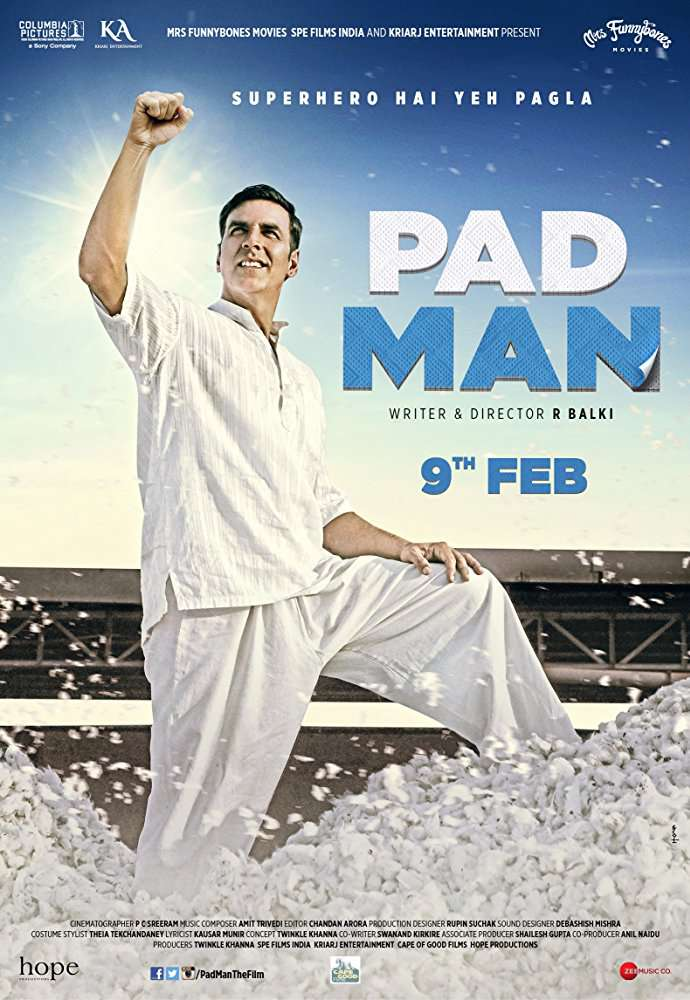 Padman 2018 Hindi 720p WEBRip AAC 2 0 x264 MW