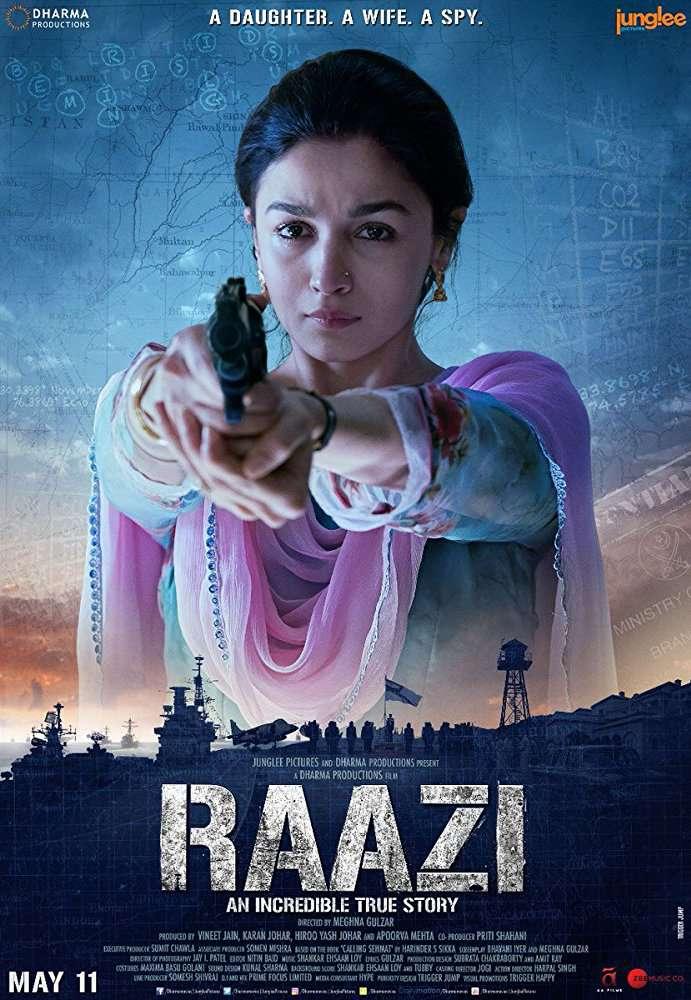 Raazi(2018) Hindi Pre DVD x264 AAC 700 MB mkv