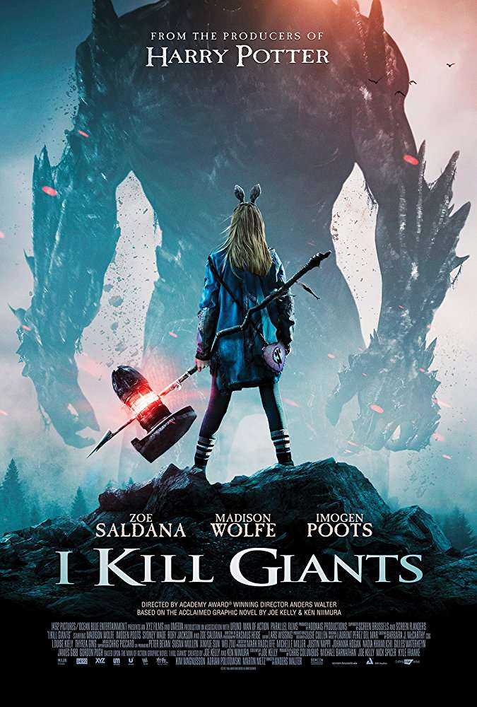 I Kill Giants 2018 BRRip XviD AC3-EVO