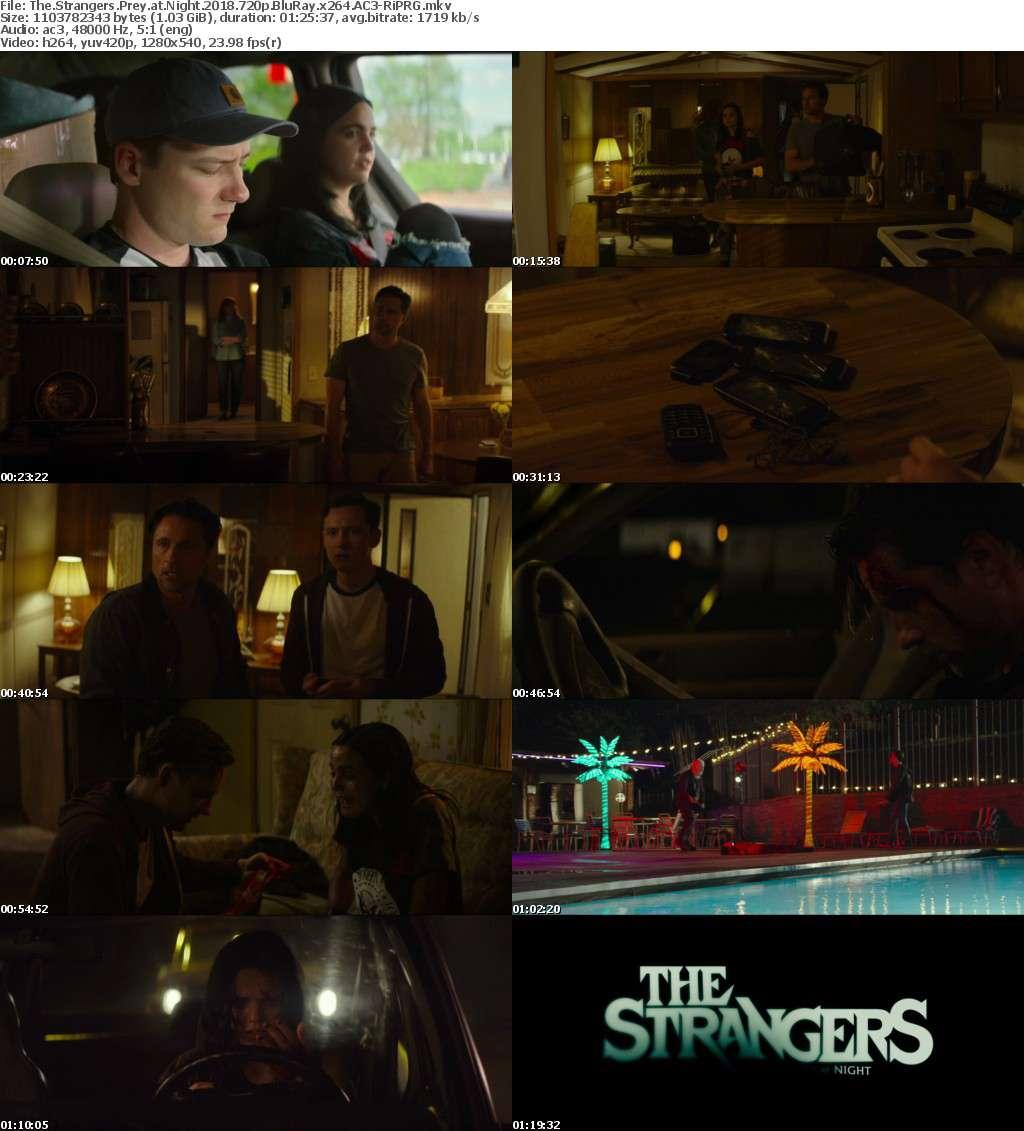 The Strangers Prey at Night (2018) 720p BluRay x264 AC3-RiPRG
