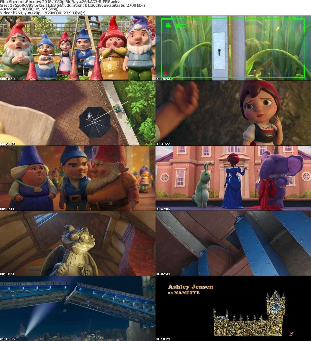 Sherlock Gnomes (2018) 1080p BluRay x264 AC3-RiPRG