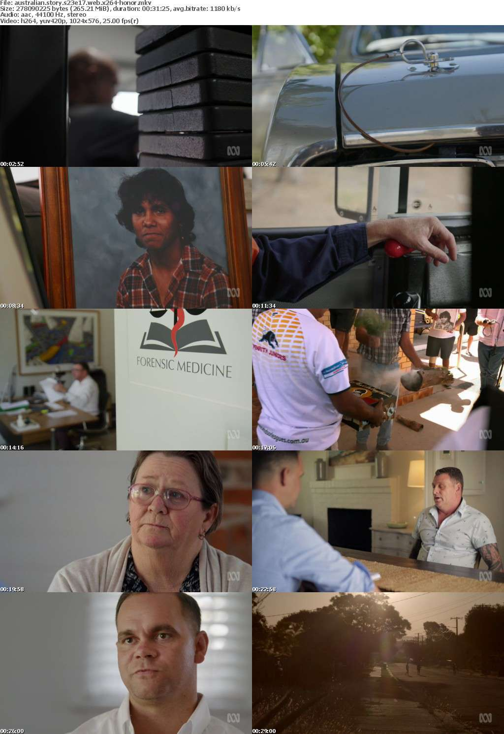Australian Story S23E17 WEB x264-HONOR