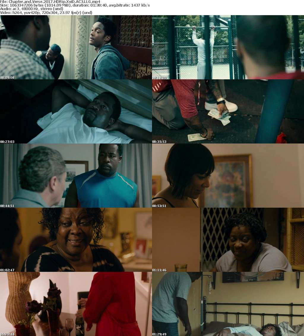 Chapter and Verse 2017 HDRip XviD AC3 LLG