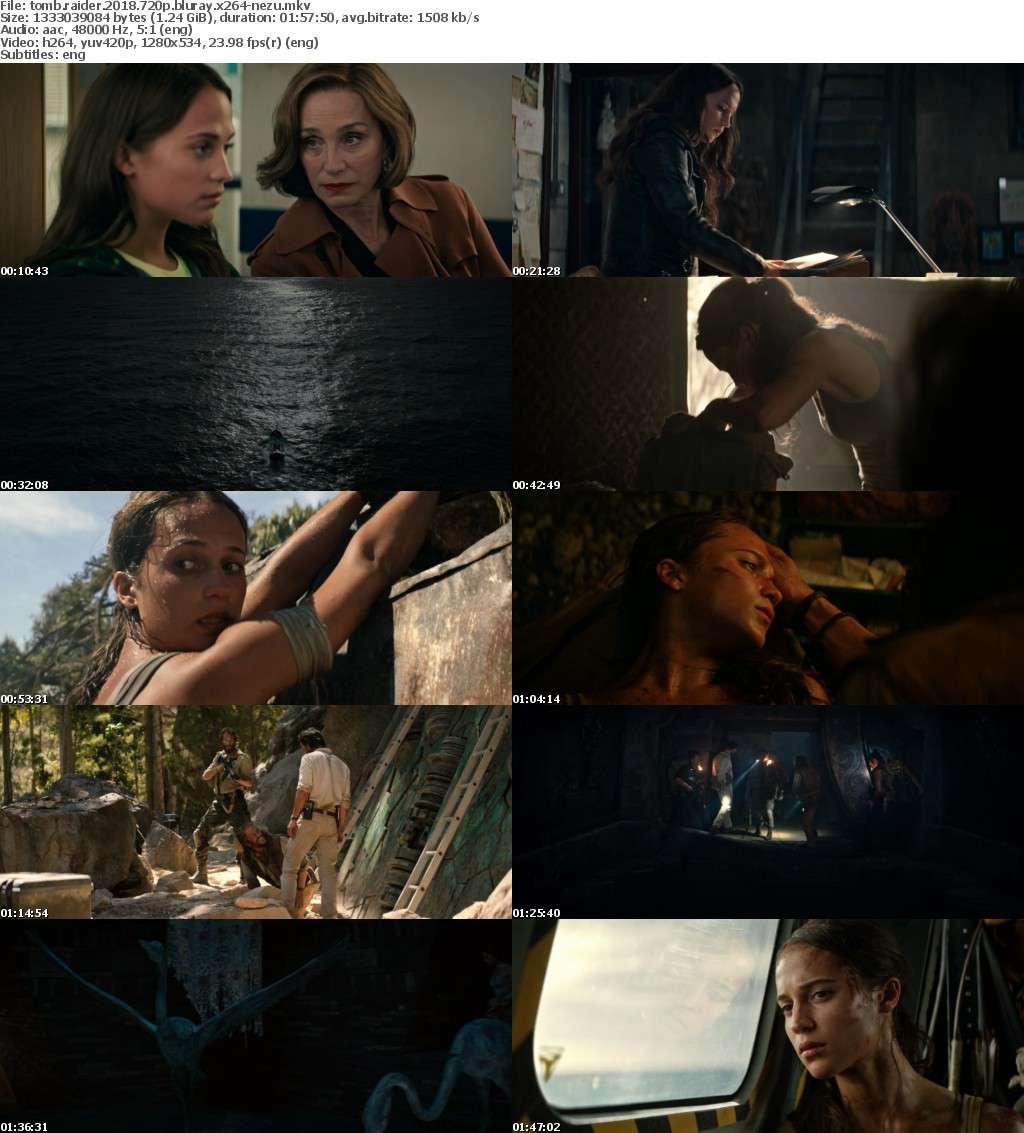 Tomb Raider 2018 720p BluRay x264-NeZu