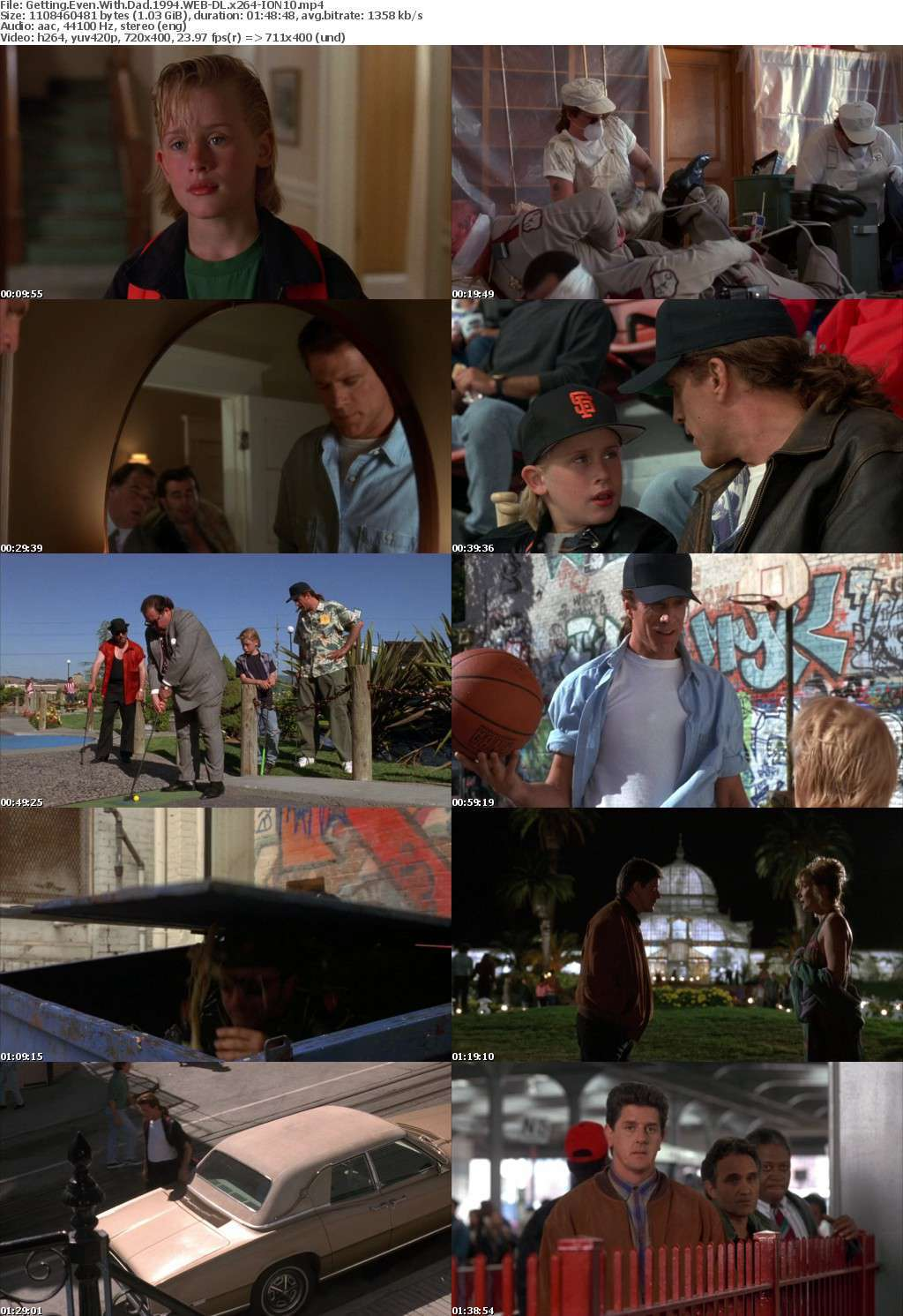 Getting Even With Dad 1994 WEB-DL x264-ION10