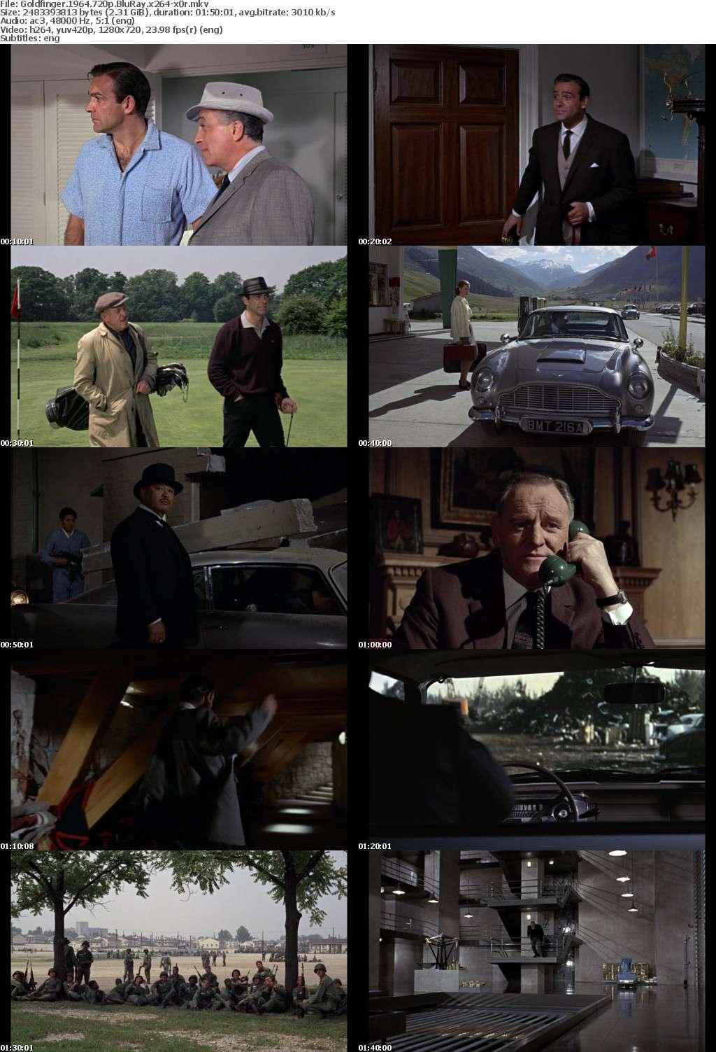 Goldfinger 1964 720p BluRay x264-x0r