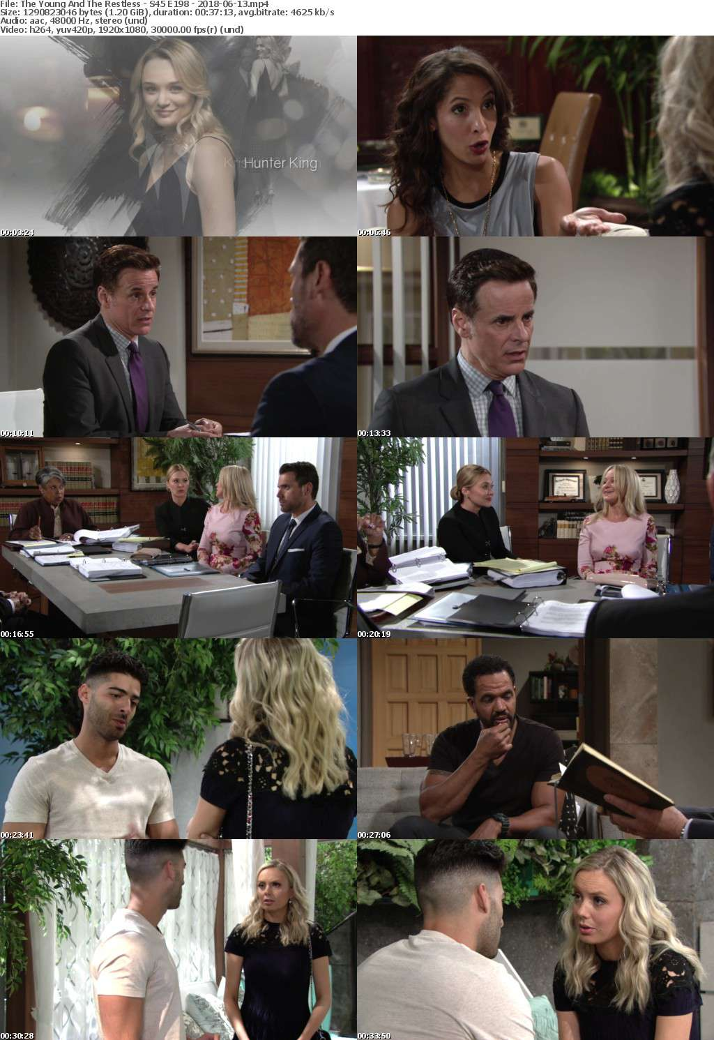The Young And The Restless - S45 E198 - 2018-06-13