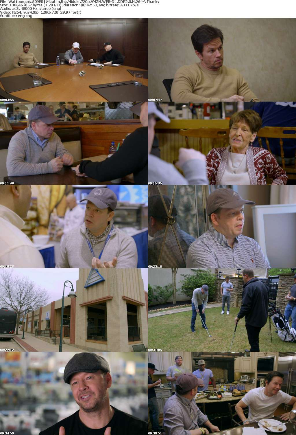 Wahlburgers S09E01 Meat in the Middle 720p AMZN WEB-DL DDP2 0 H 264-NTb