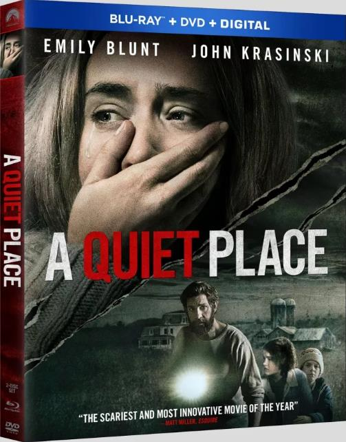 A Quiet Place 2018 720p BluRay x264 Dual Audio Hindi 2 0 - English 2 0 ESub MW
