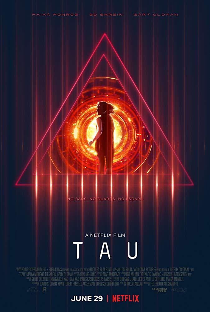 Tau (2018) HDRip AC3 X264-CMRG