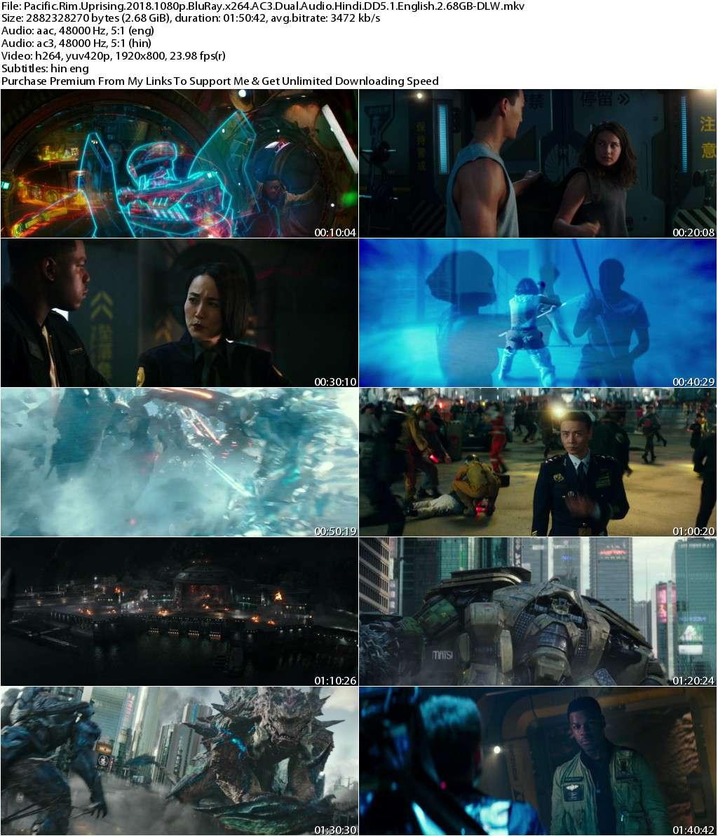 Pacific Rim Uprising (2018) 1080p BluRay x264 AC3 Dual Audio [Hindi DD5.1+English] 2.68GB-DLW