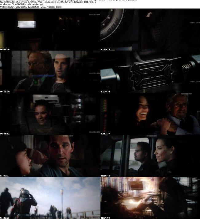 Ant-Man and the Wasp (2018) 720p English HDCAM Rip x264 750MB-Movcr