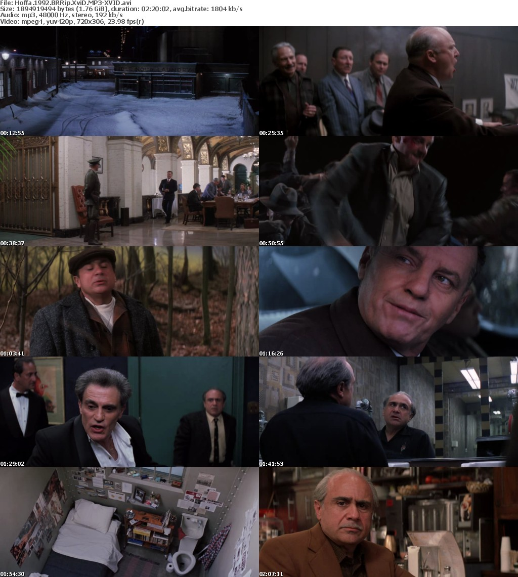 Hoffa 1992 BRRip XviD MP3-XVID