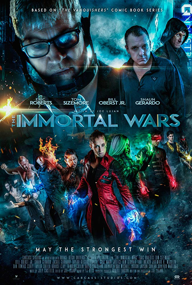 The Immortal Wars (2018) HDRip AC3 X264-CMRG