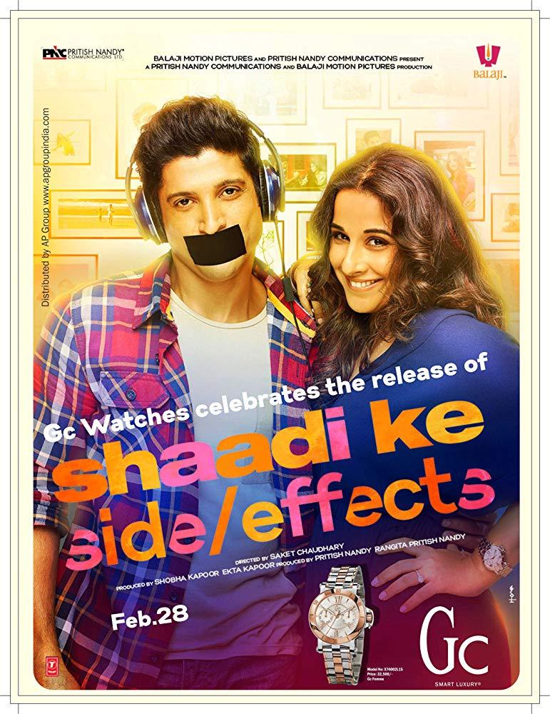 Shaadi Ke Side Effects (2014) [BluRay] [720p] YIFY