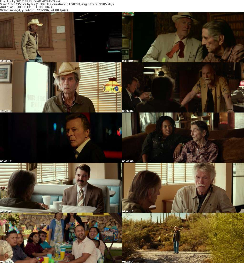 Lucky 2017 BRRip XviD AC3-EVO